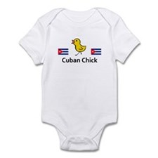 Cuban Chick Infant Bodysuit