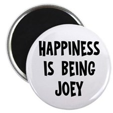 Happiness is being Joey Magnet