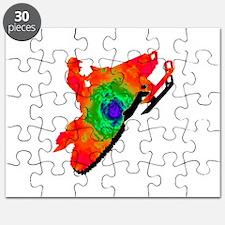 SNOWMOBILER Puzzle