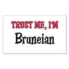 Trusty Me I'm Bruneian Rectangle Decal