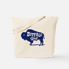 Buffalo Girl Tote Bag