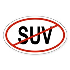 SUV Oval Decal
