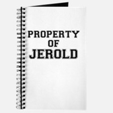 Property of JEROLD Journal