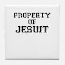 Property of JESUIT Tile Coaster