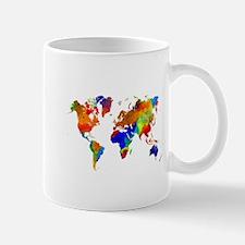 Design 33 Colorful World map Mugs