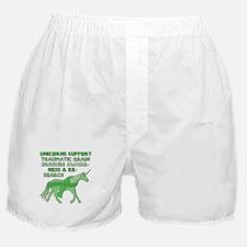 Unicorns Support Traumatic Brain Inju Boxer Shorts