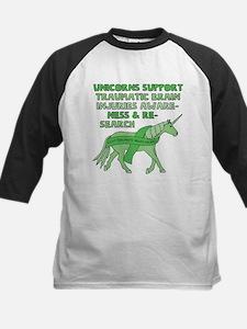 Unicorns Support Traumatic Brain I Baseball Jersey