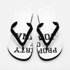 Property of JOANNA Flip Flops