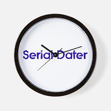 Serial Dater Wall Clock