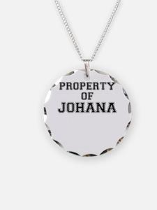 Property of JOHANA Necklace
