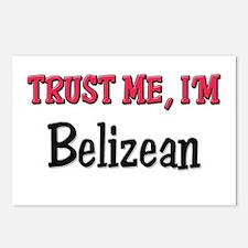 Trusty Me I'm Belizean Postcards (Package of 8)