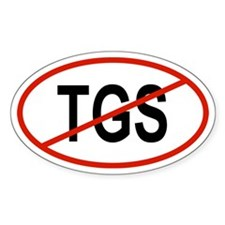 TGS Oval Decal