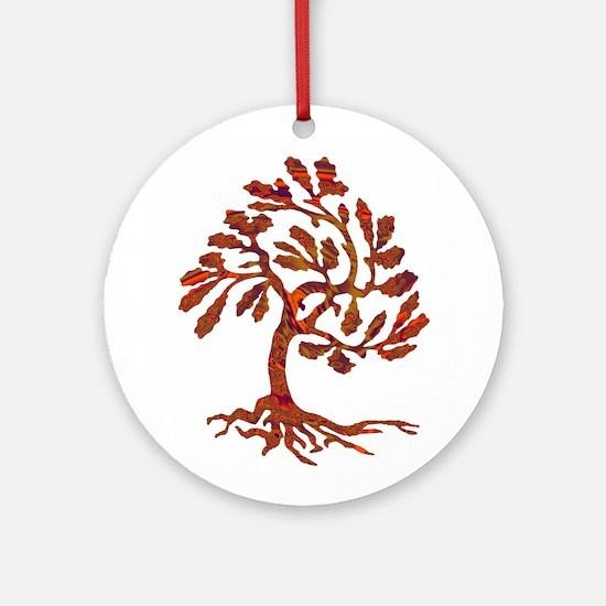 WIND Round Ornament