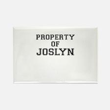 Property of JOSLYN Magnets