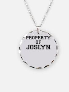 Property of JOSLYN Necklace