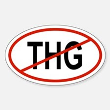THG Oval Decal