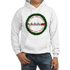 Drawn by Eight Tiny Reindeer Jumper Hoody