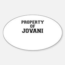 Property of JOVANI Decal