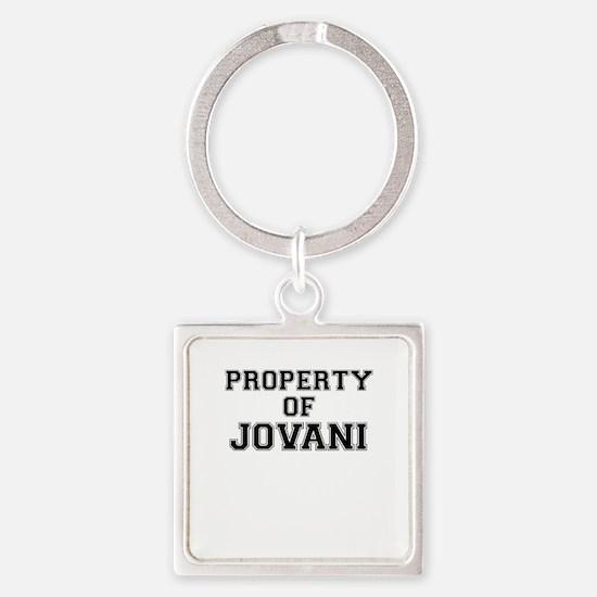 Property of JOVANI Keychains