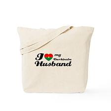 I love my Burkinabe Husband Tote Bag