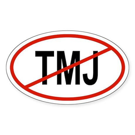 TMJ Oval Sticker