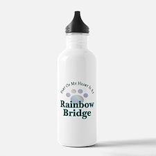 Rainbow Bridge Rainbow Paw Water Bottle