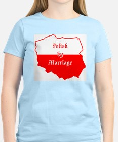 Polish by Marriage (map) T-Shirt