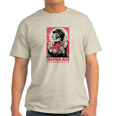 Follow Chairman Meow! Cat Light T-Shirt
