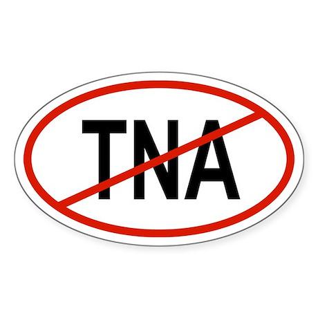 TNA Oval Sticker