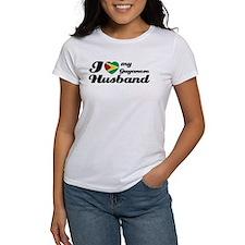 I love my Guyanese husband Tee