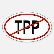 TPP Oval Bumper Stickers