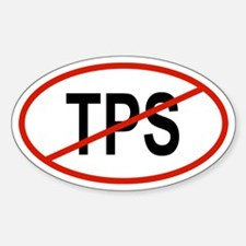 TPS Oval Decal