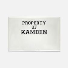 Property of KAMDEN Magnets