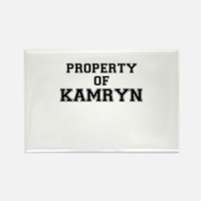 Property of KAMRYN Magnets
