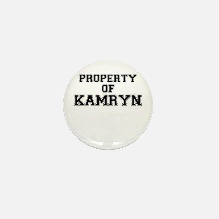 Property of KAMRYN Mini Button