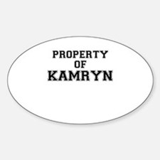 Property of KAMRYN Decal