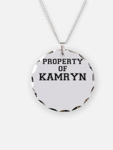 Property of KAMRYN Necklace