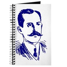 MR. WRIGHT'S MUSTACHE BLUE Journal