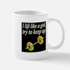 MUSCLE GIRL Mug