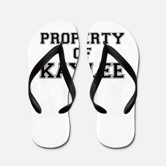 Property of KAYLEE Flip Flops
