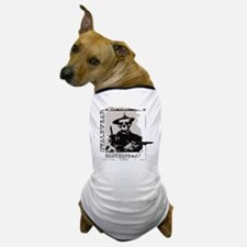 Old West Skull and revolvers Dog T-Shirt