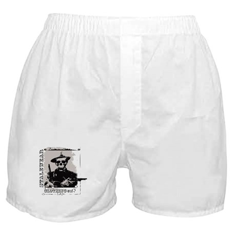 Old West Skull and revolvers Boxer Shorts
