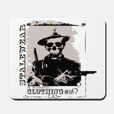 Old West Skull and revolvers Mousepad