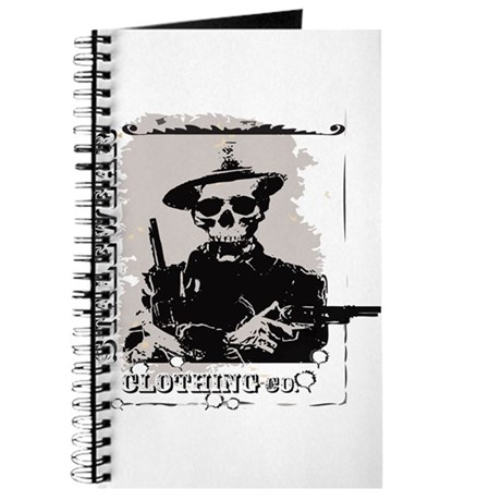Old West Skull and revolvers Journal
