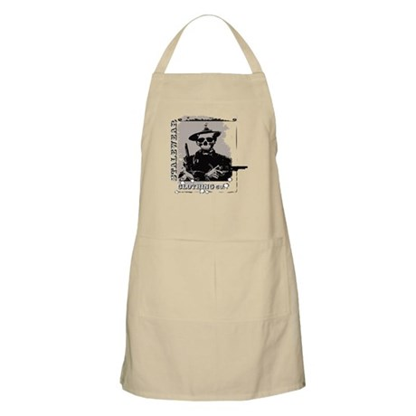 Old West Skull and revolvers BBQ Apron