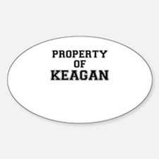 Property of KEAGAN Decal