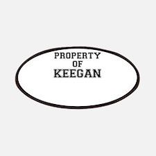 Property of KEEGAN Patch