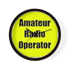Amateur Radio Operator Wall Clock