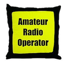 Amateur Radio Operator Throw Pillow