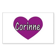 Corinne Rectangle Decal